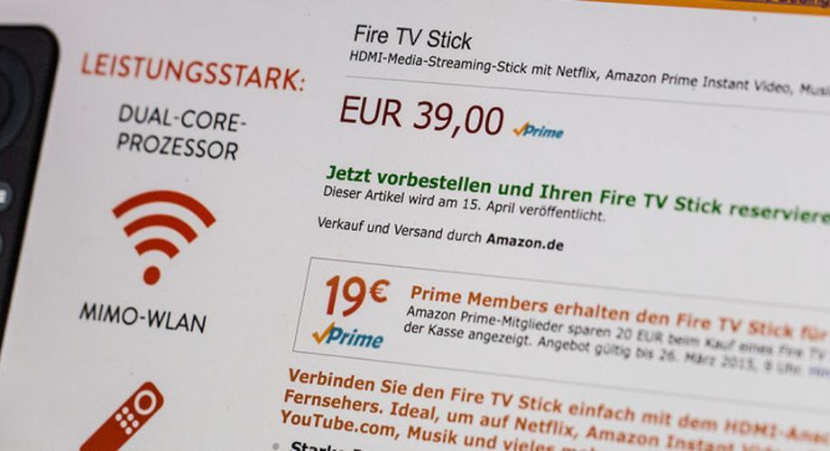 Amazon bringt Fire TV Stick nach Deutschland – ab 7 Euro!