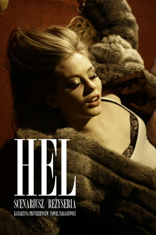 "Plakat filmu ""Hel"""