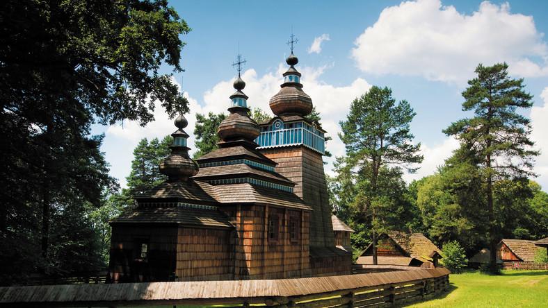 Cerkiew z Ropek, pochodząca z 1801 roku. © Wydawnictwo RM