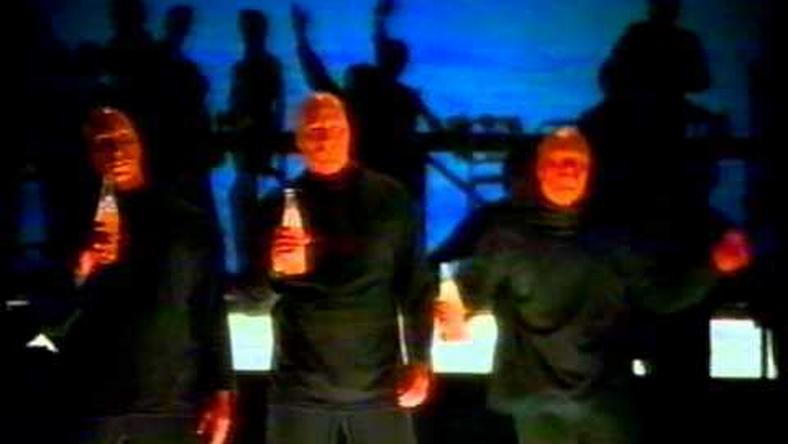 Three Orange Men, an advertising phenomenon in the 90s