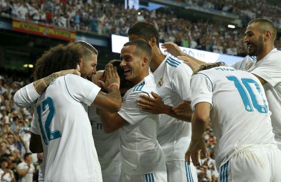 Slavlje fudbalera Reala