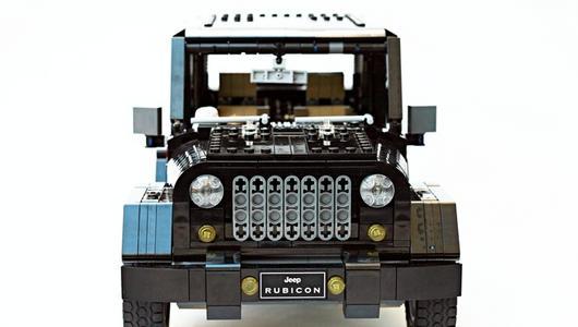 Jeep Wrangler Rubicon z klocków Lego