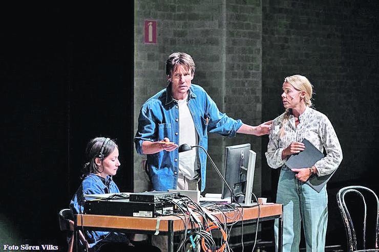 "Iz predstave ""Jedna švedska noć"", pozorište Dramaten iz Stokholma"