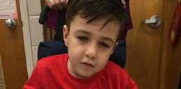 Matka umierającego chłopca popłakała się, gdy zobaczyła napis na swoim aucie