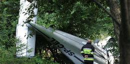 Spadła awionetka, pilot nie żyje