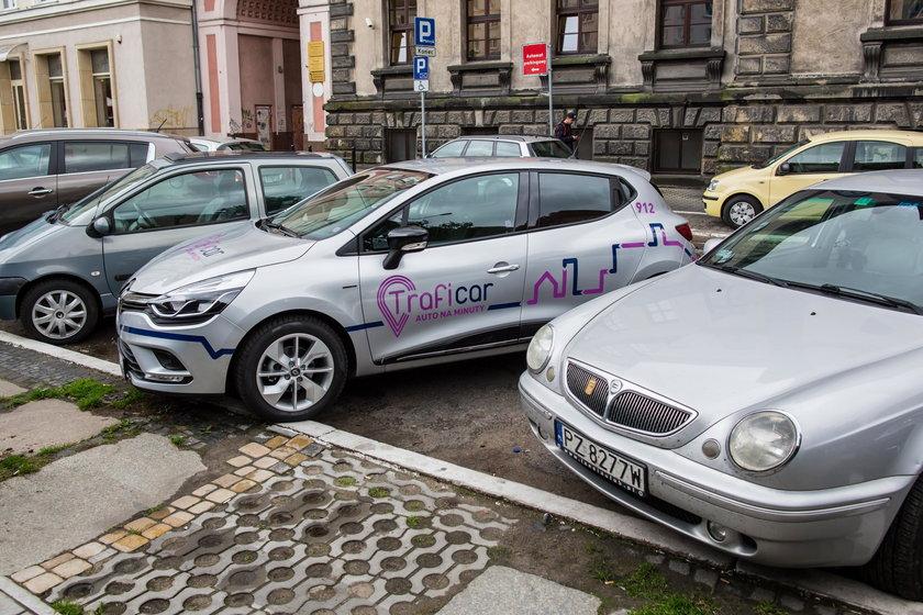 W Poznania działa wypożyczalnia aut na minuty