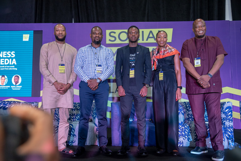 David I Adeleke and other panelists at the Business Insider By Pulse session at SMWLagos