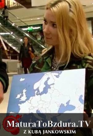 Matura To Bzdura - Mapa Europy