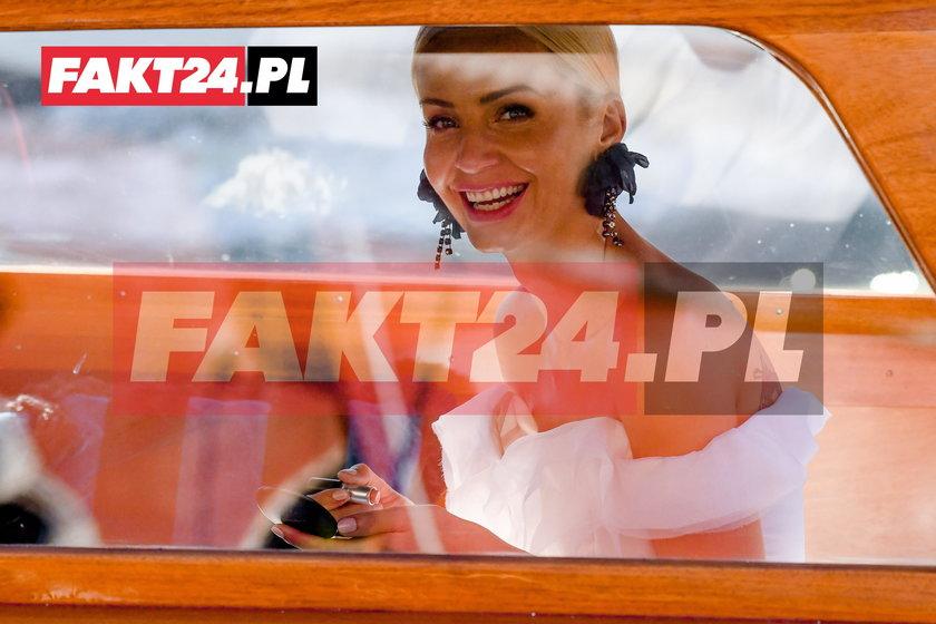 Ślub Agnieszki Szulim i Piotra Woźniaka-Staraka