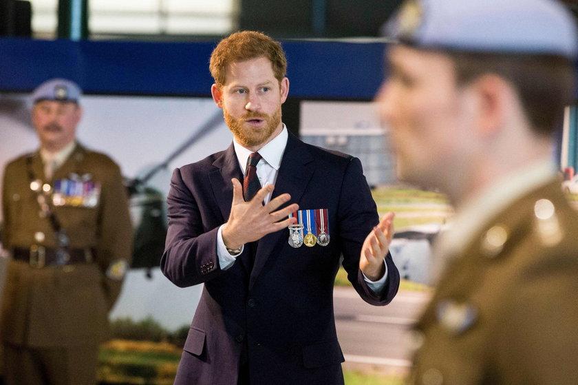 Książę Harry ma pierwszą prawdziwą pracę. Kim jest jego szef?