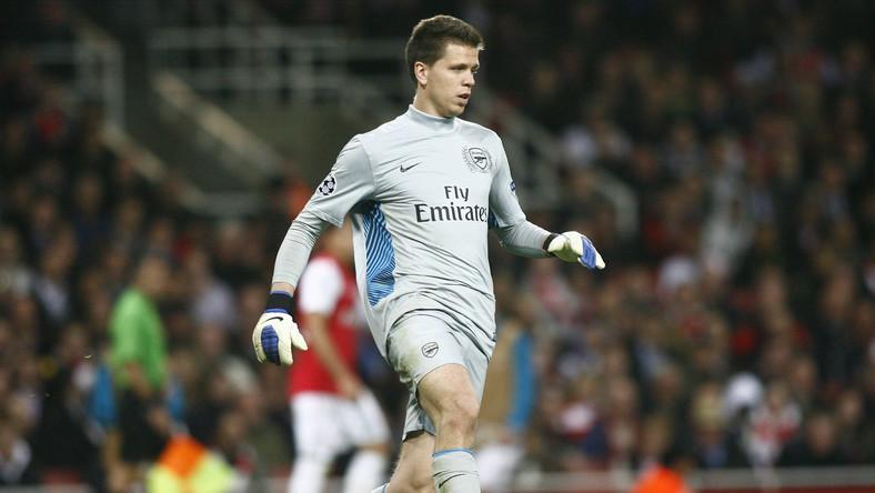 Bramkarz Arsenalu Londyn