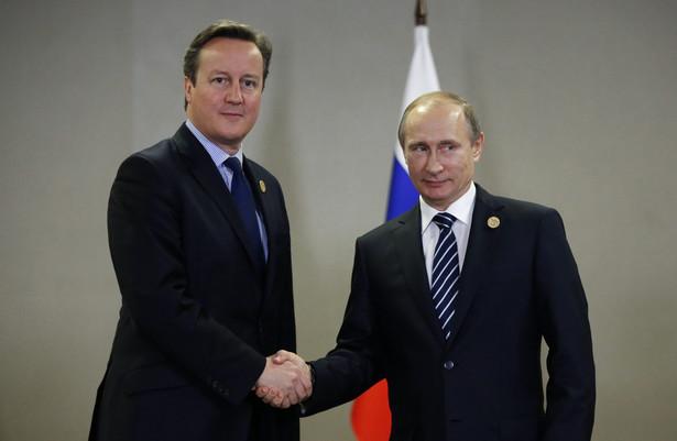 Cameron i Putin rozmawiają o Syrii