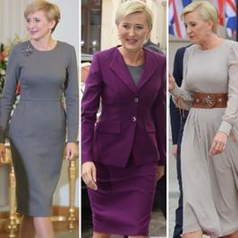 Okiem Wróblewskiej: jaki styl ma Agata Duda?