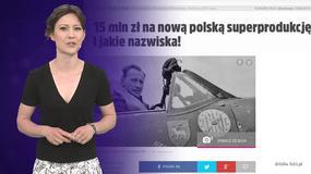 Brytyjczycy nakręcą film o polskich lotnikach; dwa nowe seriale w TVP - Flesz flmowy
