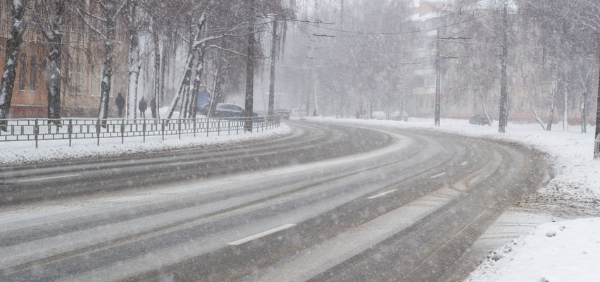 Czekaliście na wiosnę? Mamy złe wieści! W nocy nawet 15 cm śniegu