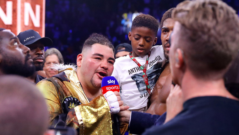 Andy Ruiz Jr po walce z Anthonym Joshuą