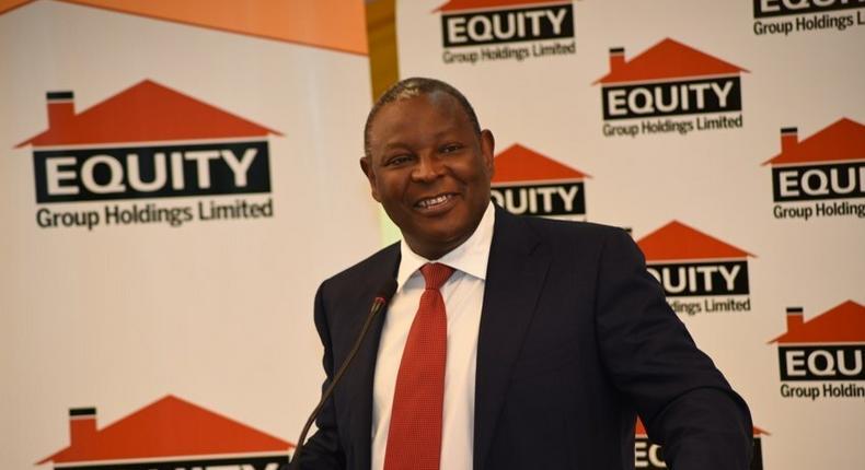 Equity CEO James Mwangi