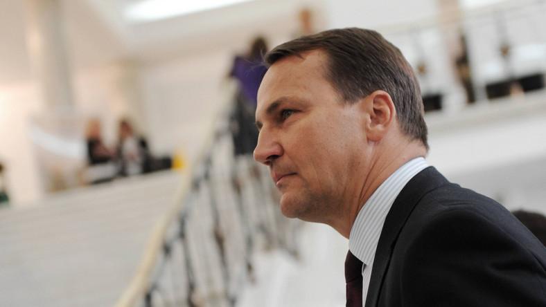 Radosław Sikorski atakuje personel Białego Domu