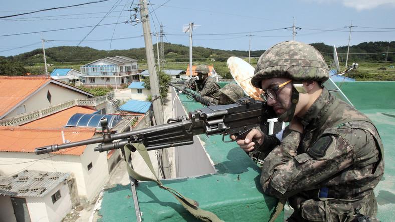 Strzelanina na koreańskiej granicy. Żołnierz otworzył ogień, są zabici