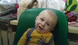 Trzyletni Antoś jest chory. Rodzice apelują o pomoc