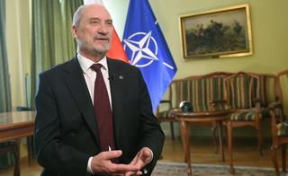 Szef MON: SKW wyjaśnia sprawę działania wymierzonego w bezpieczeństwo Polski