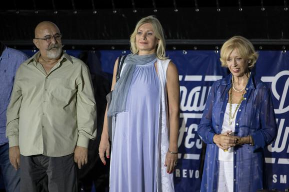 Savo Radović, Andrijana Videnović i Branka Petrić
