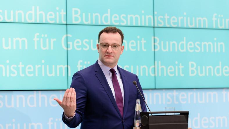 Jens Spahn. niemiecki minister zdrowia