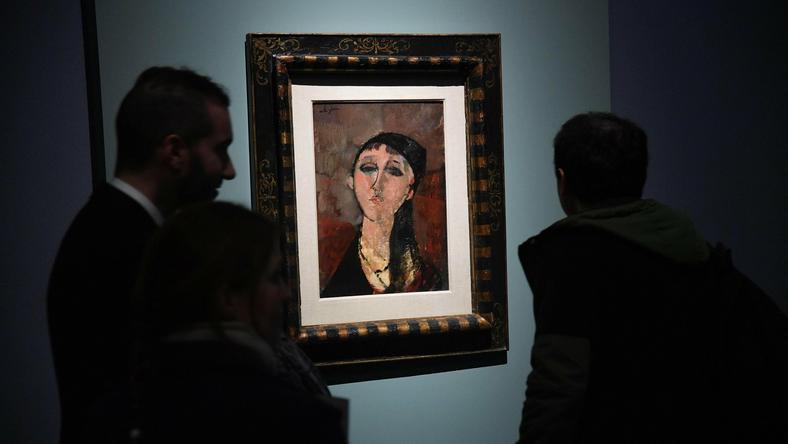 Wystawa prac Amadeo Modiglianiego w Pałacu Dodżów w Genui