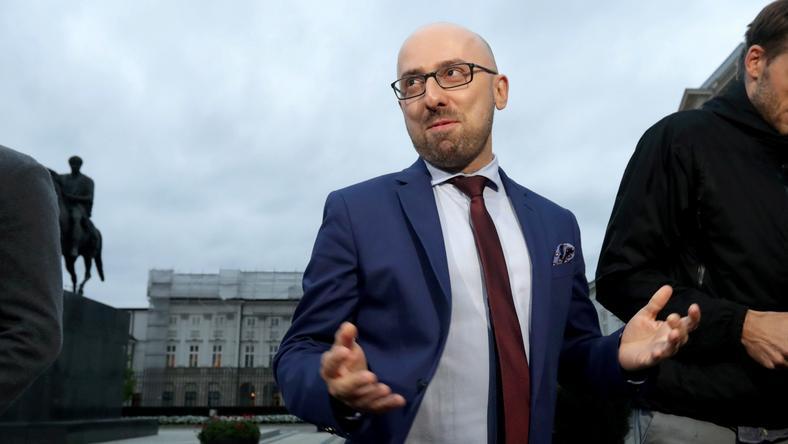 Prezydencki doradca Krzysztof Łapiński
