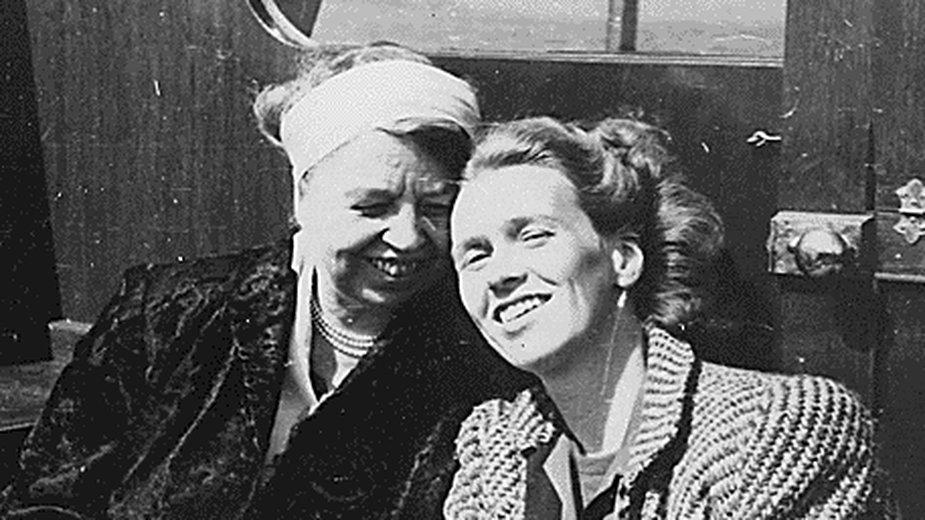 Lorena Hickok (po prawej) i Eleanor Roosevelt (po lewej)