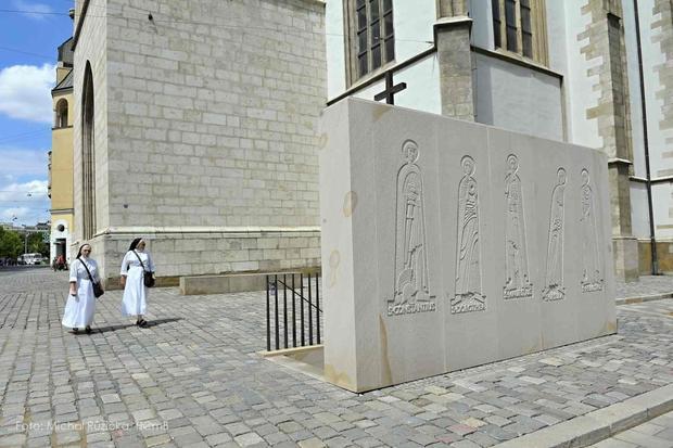 Wejście do katakumb kościoła św. Jakuba w Brnie