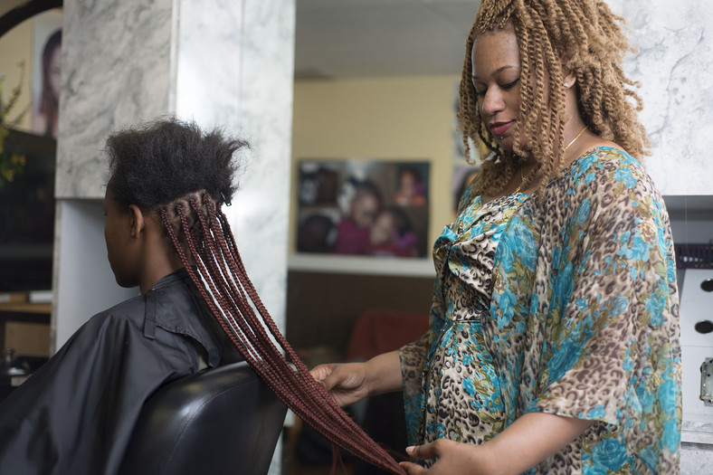 Make sure you get a good hair braider to ensure your style will look great and last long