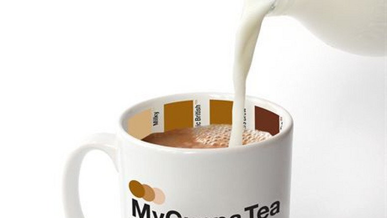 MY CUPPPA MUGSMugs to help you mix your favourite brew to just-how-you-like-it by matching the colour guide on the inside. Available in Tea or Coffee styles.Fot. SUCK UK DESIGN