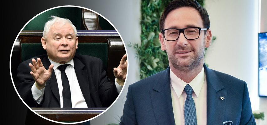 """Daniel Obajtek Człowiekiem Roku tygodnika """"Wprost"""". Kaczyński nie szczędzi mu komplementów"""