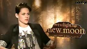 Saga Zmierzch: Księżyc w nowiu - Kristen Stewart o filmie (wywiad Onet.pl)