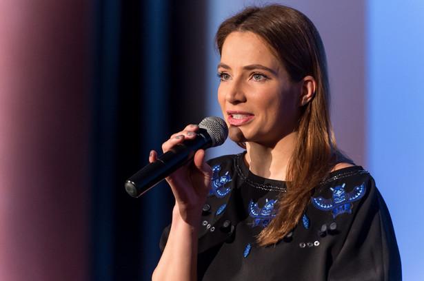 Gości Europejskiej Konferencji Filmowej powitała między innymi ambasadorka Legalnej Kultury aktorka Anna Dereszowska.