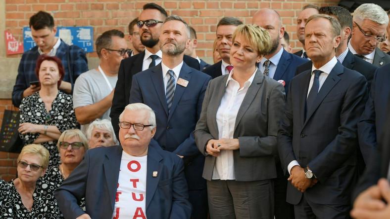 Lech Wałęsa Donald Tusk
