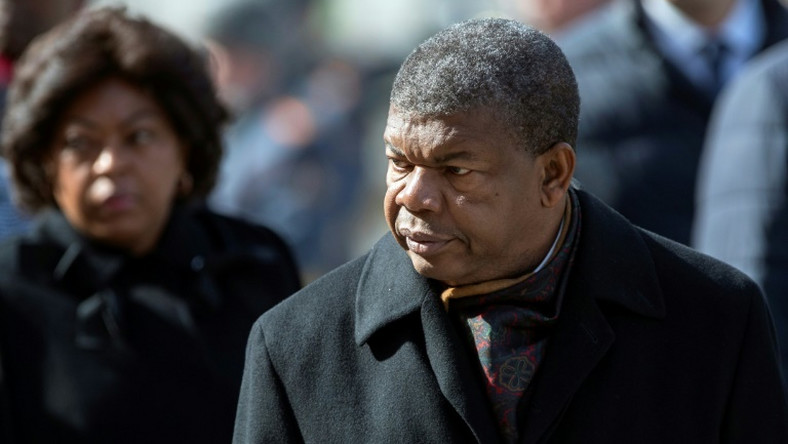 "Angola's President Joao Lourenco (pictured April 2019) cancelled a real estate deal, stating in a decree that the contract had been cancelled ""after establishing overcharging"""