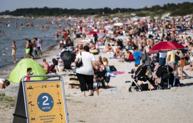 Plaža ispunjena