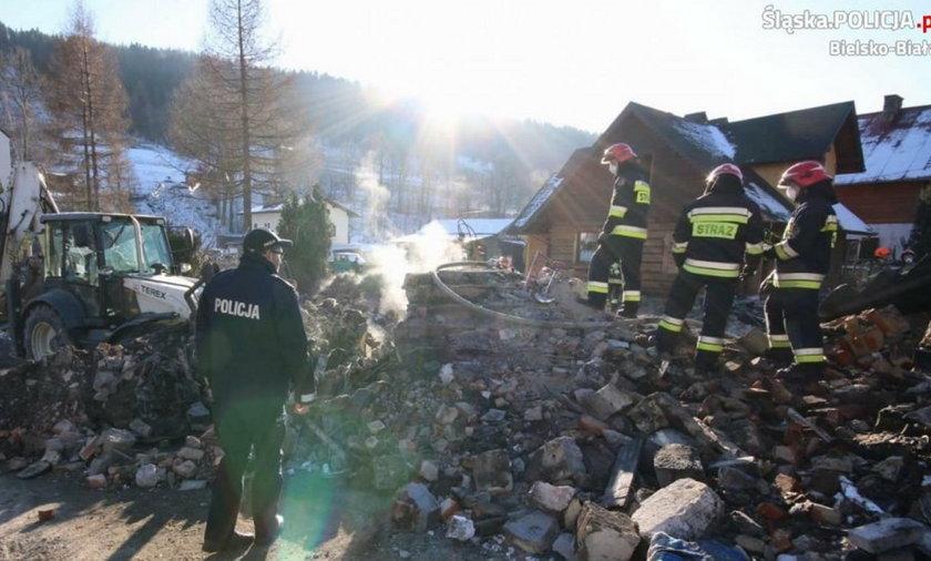Wybuch gazu w Szczyrku. Pogotowie spóźniło się o 22 minuty