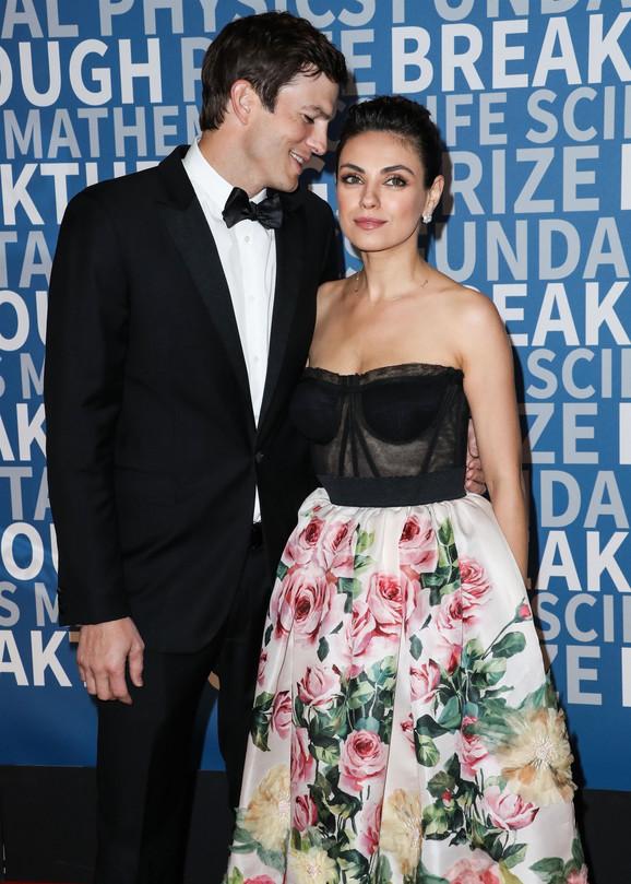 Ešton Kučer i Mila Kunis
