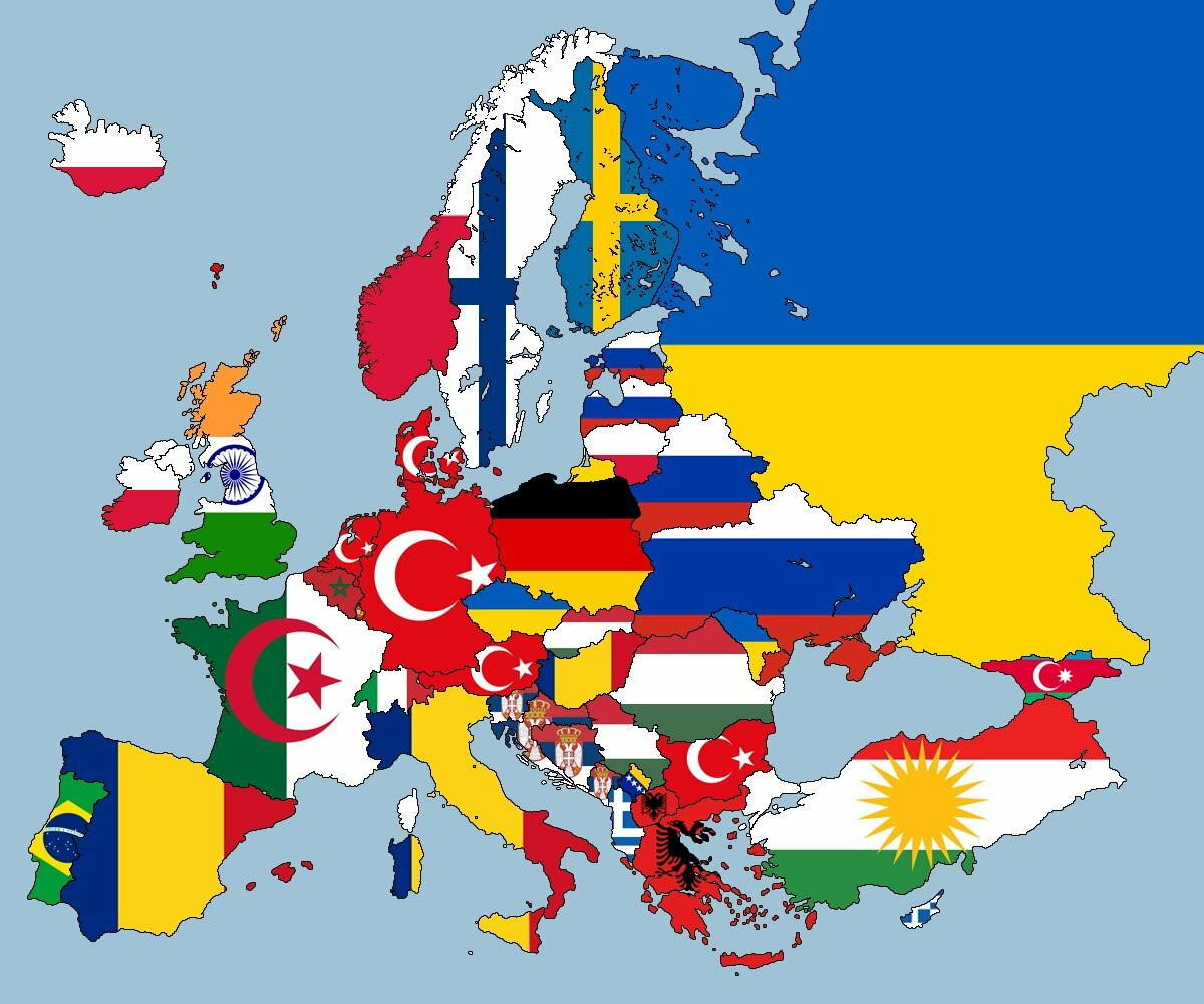 Greska Karl Bilt Okacio Mapu Evrope Koja Je Izazvala Buru Na Internetu