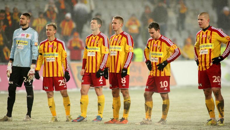 Piłkarze Korony Kielce