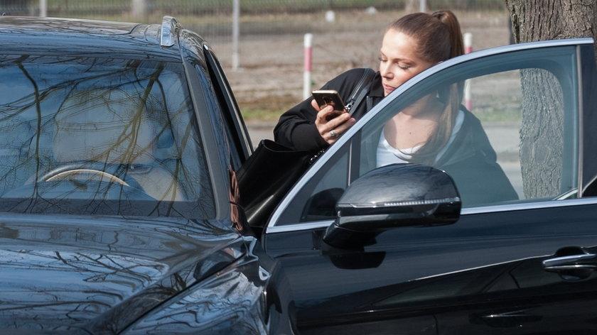 Gwiazdy, którym skradziono samochody: Joanna Liszowska