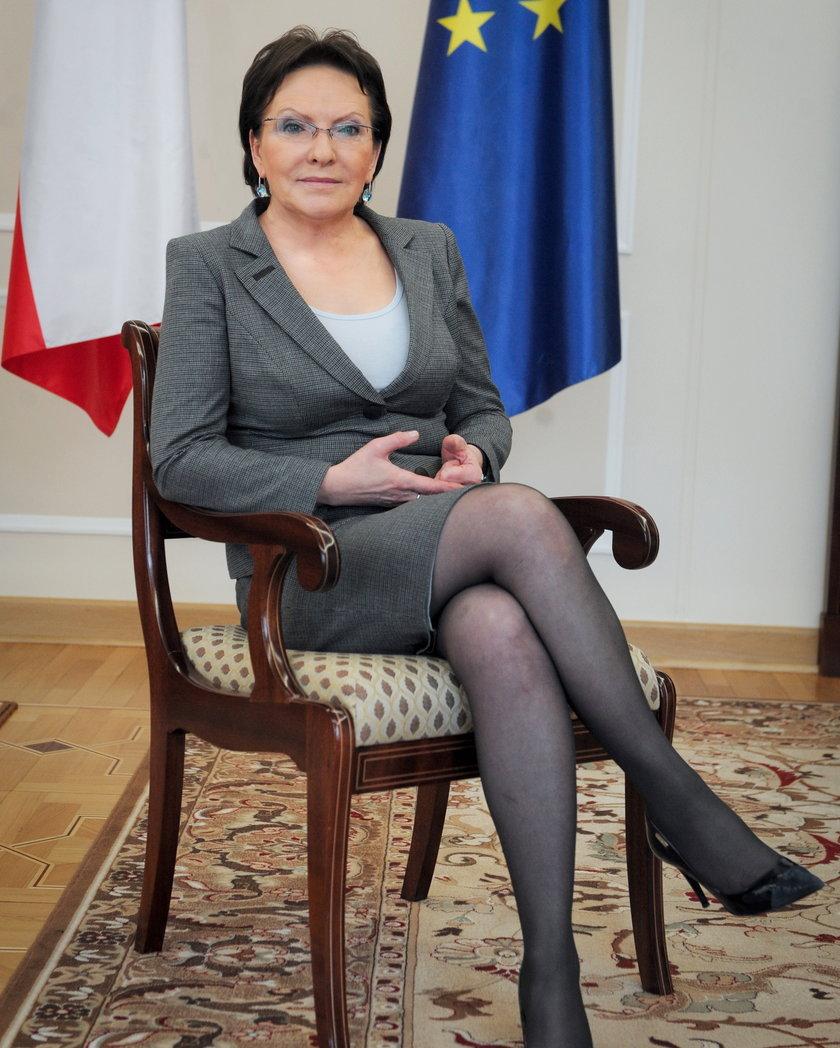 Ewa Kopacz, wiceprzewodnicząca PO i kandydatka na fotel premiera
