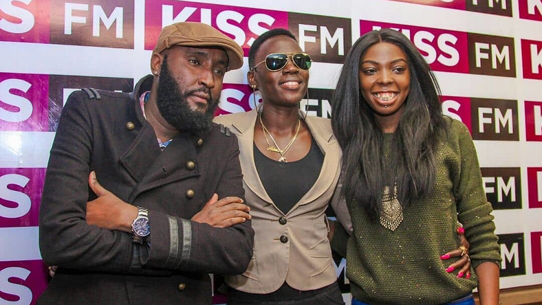 Shaffie Weru ,Adelle Onyango and Akothee