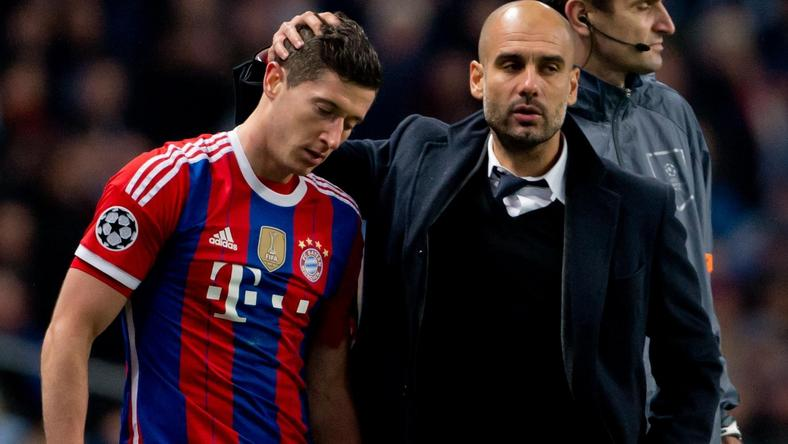 Lewandowski i Guardiola