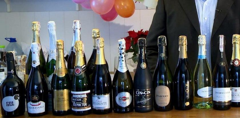 """W której sieci kupisz najtańszego """"szampana""""? Sprawdziliśmy!"""