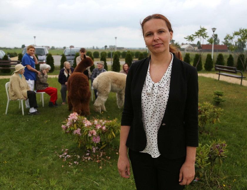 Anna Sobolewska dyrektor Ośrodka Medi System