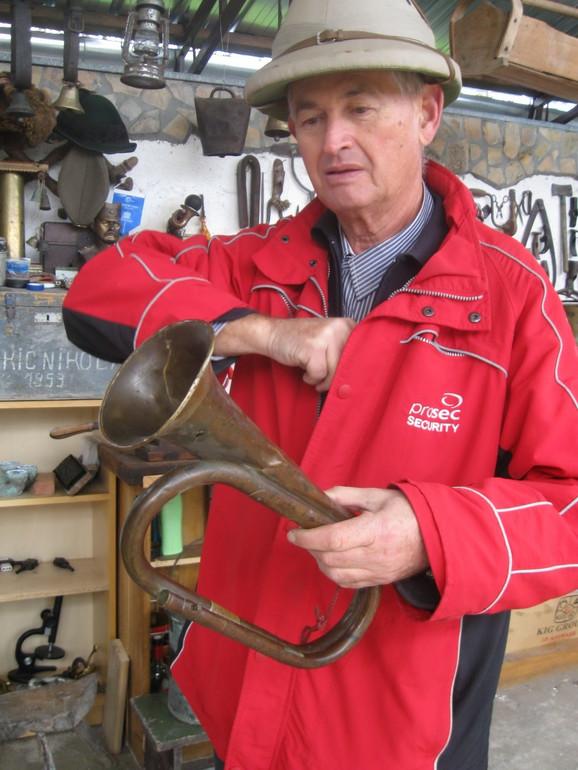 Uzelac sačuvao i  vojnu trubu iz čuvene radionice Horn